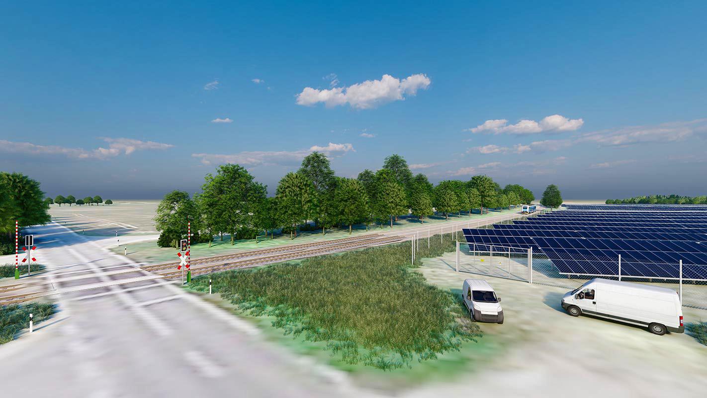 UKA - Solarpark Laubst